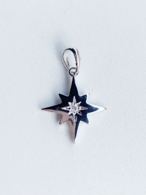 Pingente Estrela Star Semijoia