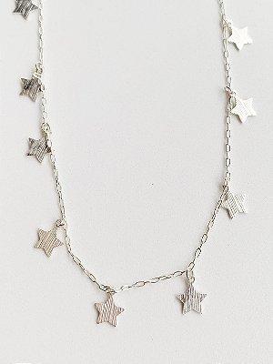 Colar Estrela Prata