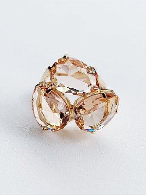 Anel Cristal Semijoia