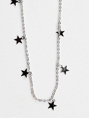 Colar Longo Estrela Semijoia