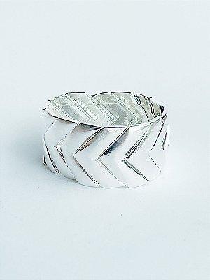 Bracelete Seta Banho de Prata