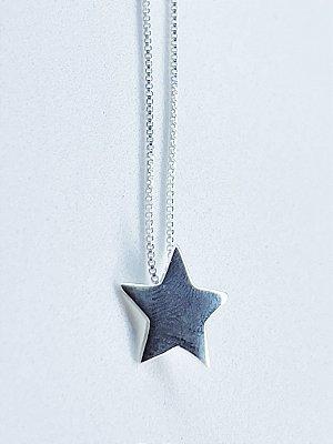 Colar Estrela de Prata