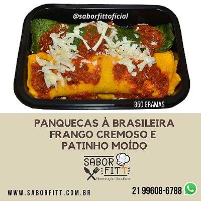 Panqueca à Brasileira Recheada (350 Gramas)