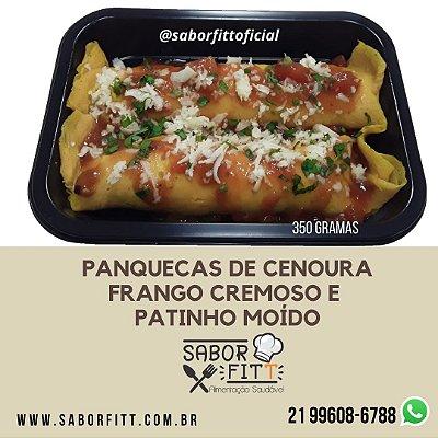 Panqueca de Cenoura Recheada (350 Gramas)