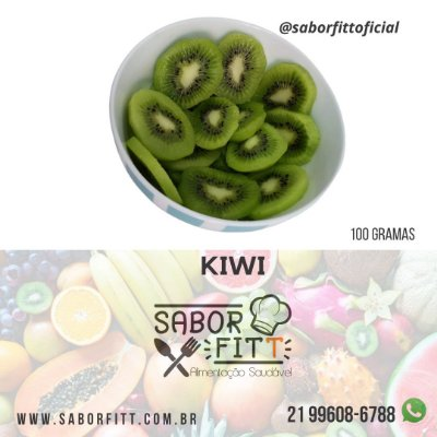 Kiwi 100 Gramas