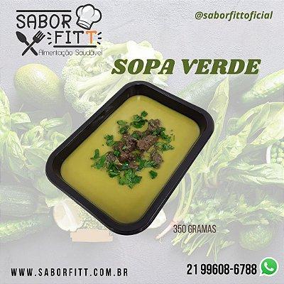 Sopa Verde - Frango ou Patinho em Cubos