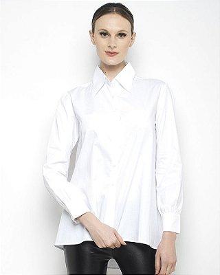 Camisa Social Trapézio - Branco
