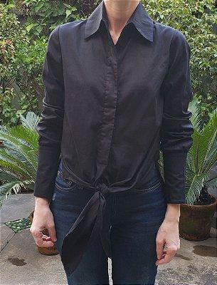 Camisa Nó Com Detalhe Punho