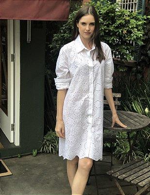 Vestido Laise - Branco