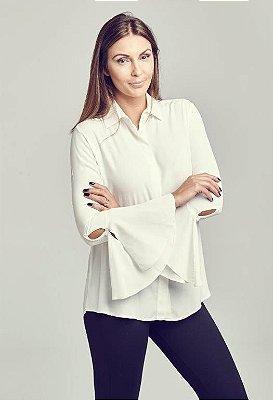 Camisa Balbina  manga gode