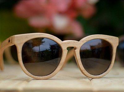 SEREIA Claro - Óculos de madeira