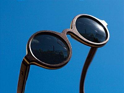 ÍNDIA Escuro - Óculos de madeira