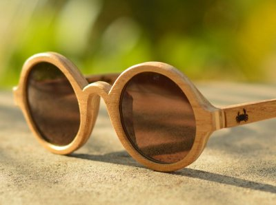 ÍNDIA Claro - Óculos de madeira