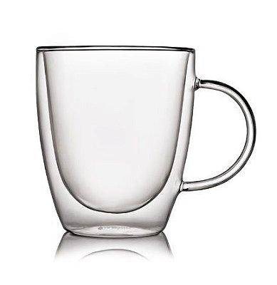 CANECA DE VIDRO DUPLO Para Chá e Café