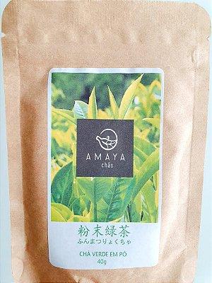 Chá Verde Nacional Em Pó - Amaya (40g)