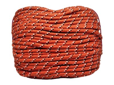 Corda redonda 8,5mm - poliéster c/enchimento colorido