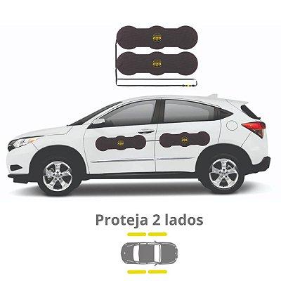 Protetor De Portas P/ Carros Shields Wide Kit c/4