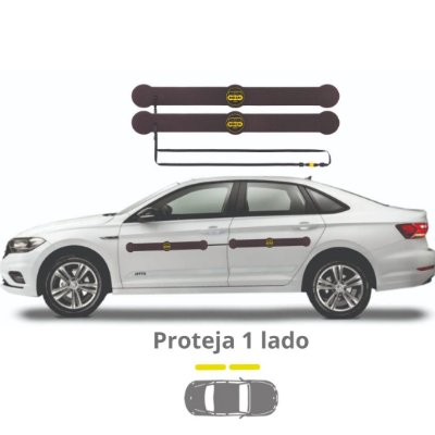 Protetor De Portas P/ Carros Shields Long Kit c/2