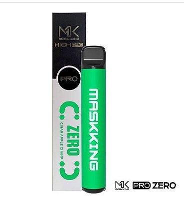 MK - APPLE CANTALOUPE - ZERO NICOTINA - MASKKING HIGH PRO ZERO NICOTINA - 1000 PUFFS