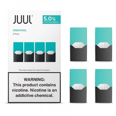 REFIL JUUL (PACK OF 4) MENTHOL