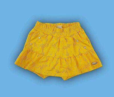 Shorts Saia Laise Amarelo