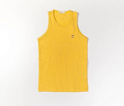 Camiseta Infantil Cotton Cor Amarelo