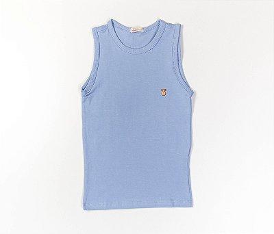 Camiseta Infantil Machão Cotton Cor Azul