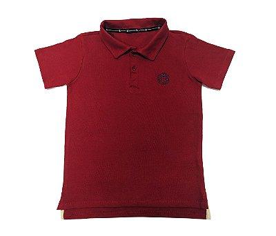 Gola Polo infantil Vermelho muito conforto e estilo para os pequenos.