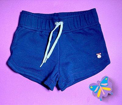 Short Boxer Moleton Azul Marinho