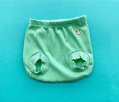 Tapa Fraldas Bebê Básico Cor Verde