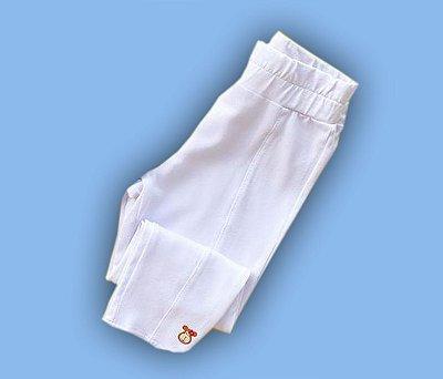 Calça Legging Básica Cor Branca
