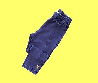 Calça Legging Básica Cor Azul Marinho