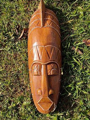 Máscara Indonésia Raio de Sol Madeira