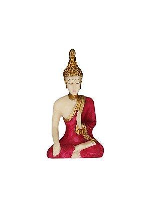 Sidartha Gautama Meditando  Resina Mini 7cm