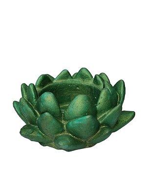 Porta Incenso Flor de Lotus Resina