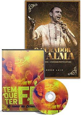 O CURADOR DA ALMA + DVD TEM QUE TER FÉ
