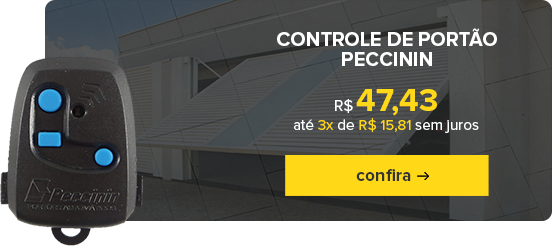 Mini Banner 2 Controle Peccinin