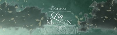 Lia de Morrighan - Mary E Person - vela grande