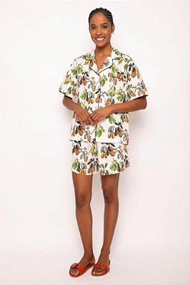 pijama conjunto curto nativa