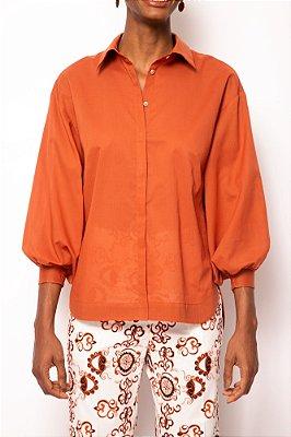 camisa box cobre