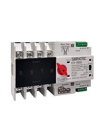 Chave de Transferência Automática ATS-100CG 4 Polos 100 A - Transferência com Carga