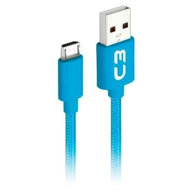 Cabo Micro USB C3 plus 1m cb-m11 Azul