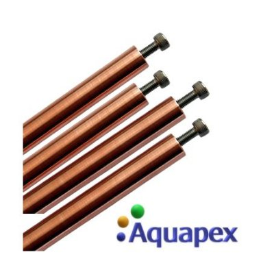 Refil para ionizadores Aquapex Prata Cobre - Kit