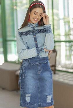 Saia Jeans – Raje