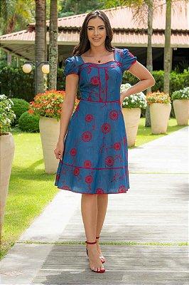 Vestido em Jeans - Luciana Pais