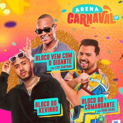 15/02 - Arena Carnaval  | Bate Volta