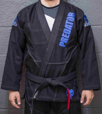 Kimono Predator MMA - Competition Slim - Preto