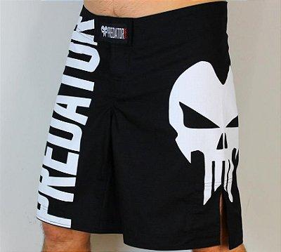 Bermuda Predator MMA - Large Skull V2 - Preta
