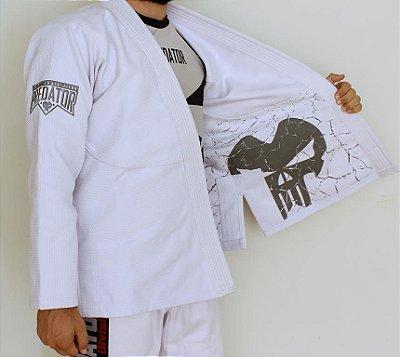 Kimono Predator MMA - Tradicional - Grey - Branco