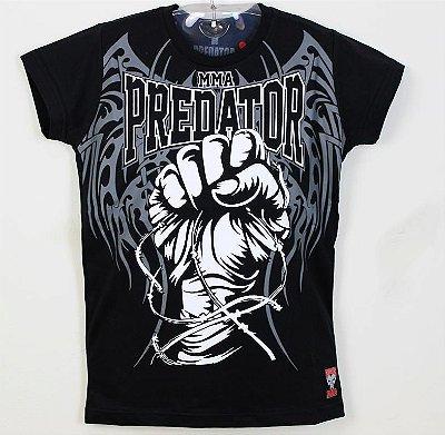 Baby Look Feminina - Predator MMA - Punho